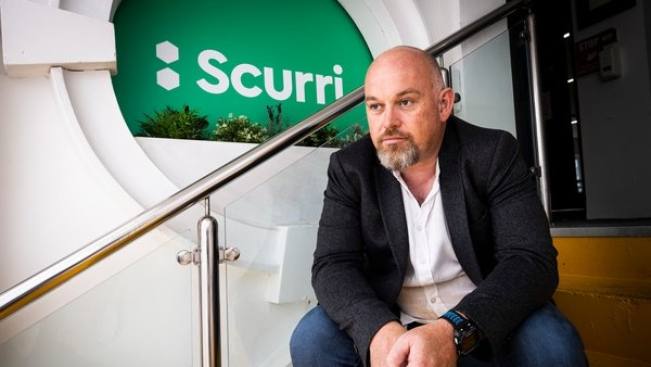 Rory O'Connor, the founder and CEO of Scurri