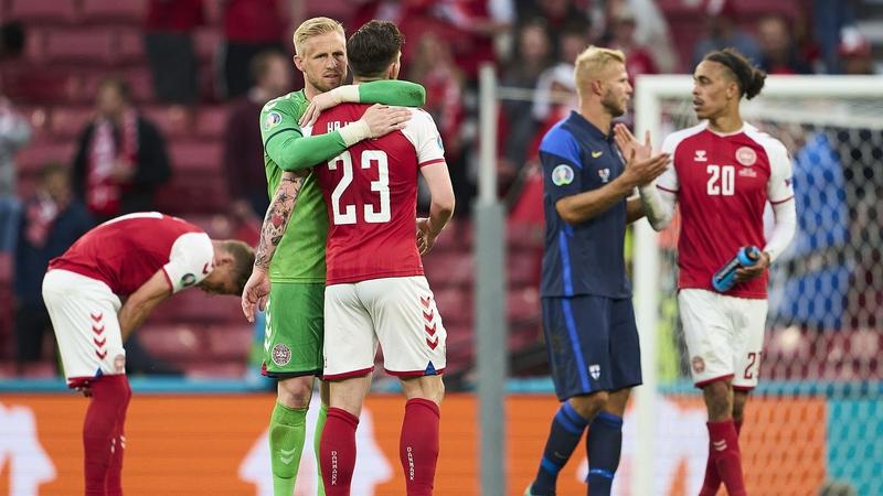 Kasper Schmeichel: Denmark want to win it for Christian