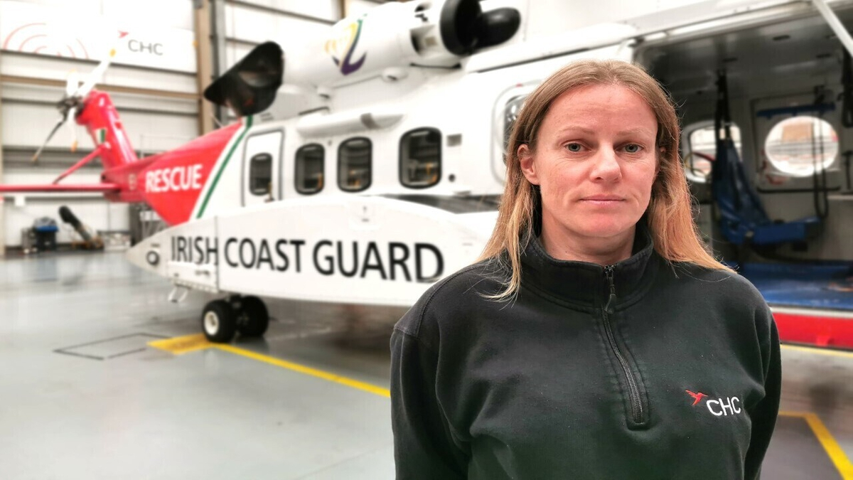 Life as a coastguard on board helicopter 117