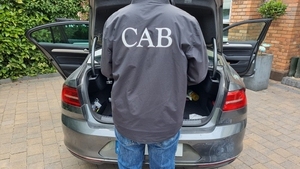 The Criminal Assets Bureau carried out raids across four counties this morning