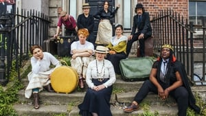 Actors stage photocall outside James Joyce's 'House of The Dead'. Photo by Ruth Medjber