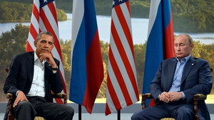 Vladimir Putin and Barack Obama came face-to-face at the G8 Summit at Fermanagh, Northern Ireland, in 2013