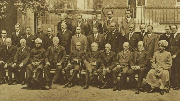 Century Ireland Issue 207 - Members of the Imperial Conference Photo: Illustrated London News, 9 July 1921