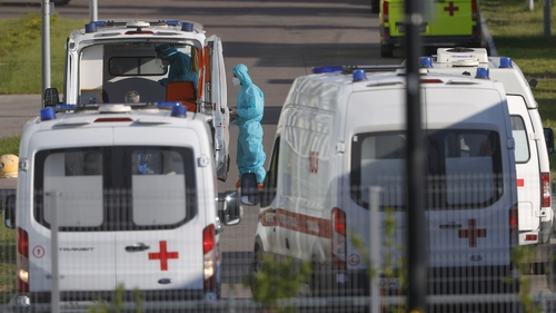 Russia has seen a sharp uptick in coronavirus cases