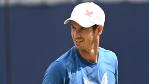 Murray has been in action at the pre-Wimbledon Queen's Club tournament