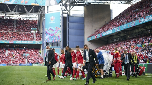 Denmark will be back at the scene of Christian Eriksen's shocking collapse tomorrow