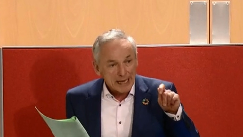 Fine Gael's Richard Bruton was told by a number of rural TDs to withdraw remarks he made during the debate