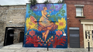 A new mural on Dublin's Camden Row for Pride month