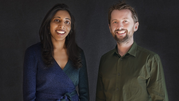 Vidhya Ramalingam and Ross Frenett, the co-founders and joint CEOs of Moonshot