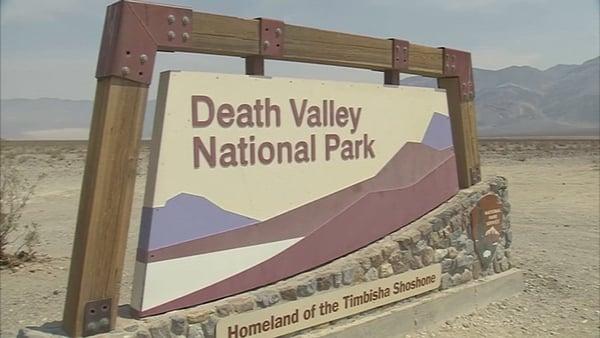 Temperatures soaring: California's Death Valley.