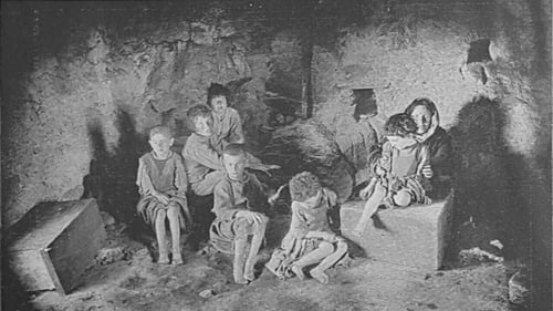 Interior of a cabin in Carraroe, Co. Galway. Image courtesy of the National Library of Ireland