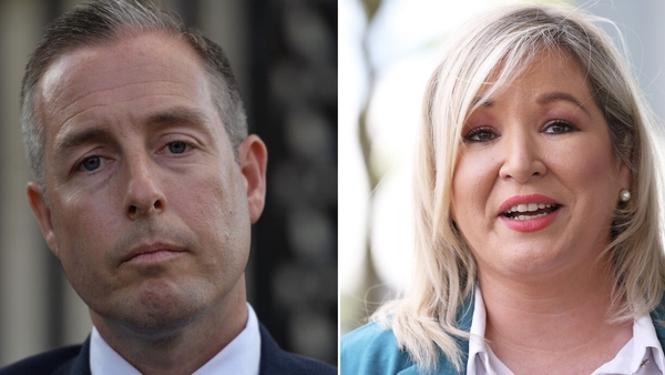 Paul Givan and Michelle O'Neill were formally nominated today