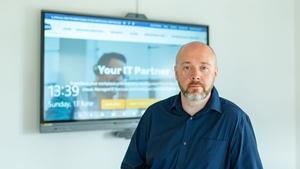 IT security expert Gavin Dixon of Business IT Solutions (BITS)