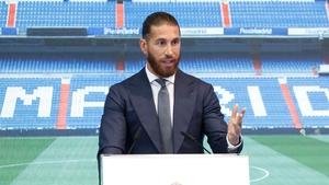 Sergio Ramos has joined PSG