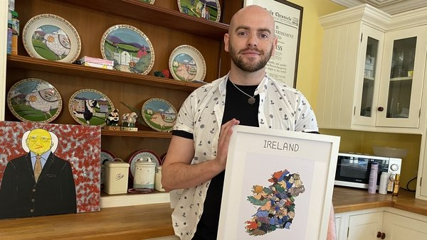 Visual artist Paul Broughall was inspired by the shape of his native Co Kildare