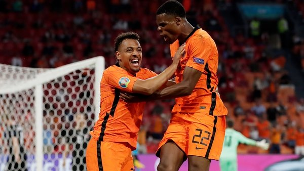 Netherlands booked their place in last-16 with a somewhat laboured win over Austria