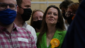 Sarah Green took 56.7% of the vote