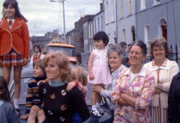 Wolfe Tone Street in Limerick, 1976