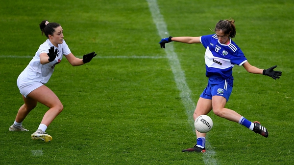 Mo Nerney in action for Laois