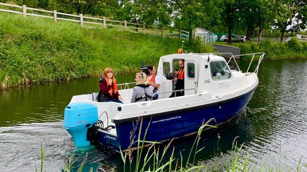 Blathnaid and Norma Forrest waterways Ireland