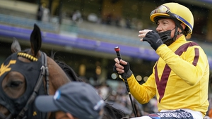 Frankie Dettori riding Campanelle won The Commonwealth Cup in the stewards room