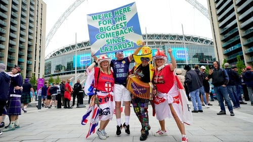Wembley Stadium in north west London is near a site being built by Irish firm Sisk