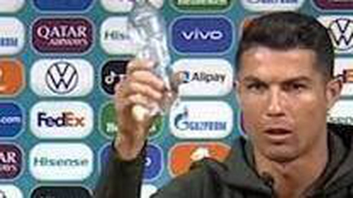 Coca Cola's market value dropped by $4 billion in response to Ronaldo moving two bottles of Coca-Cola at a press conference