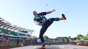 Ryan Crouser knew the world record was his own the moment the shot left his hand