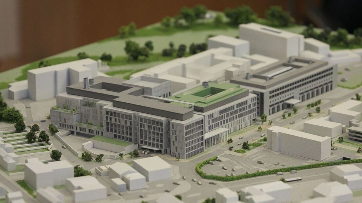 Site of new National Maternity Hospital