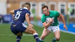 Josh O'Connor in action against Ollie Melville