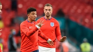 Jadon Sancho wasn't used in England's goalless draw with Scotland