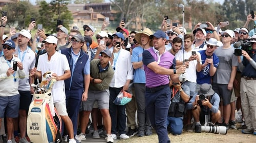 Rory McIlroy put himself into contention at the US Open