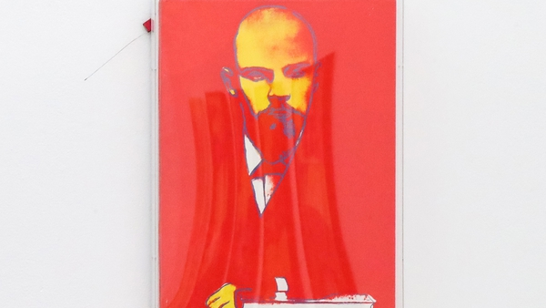 Andy Warhol's Red Lenin