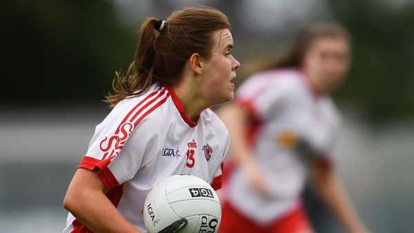 Niamh O'Neill grabbed a hat-trick for Tyrone