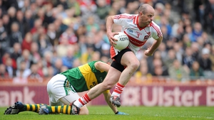 Kevin McCloy in action for Derry in 2009