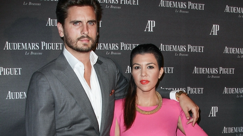 Scott Disick has three children with Kourtney Kardashian (pictured here together in Miami in September 2013)
