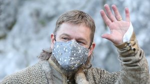 Matt Damon filming The Last Duel in Cahir, Co Tipperary in September 2020
