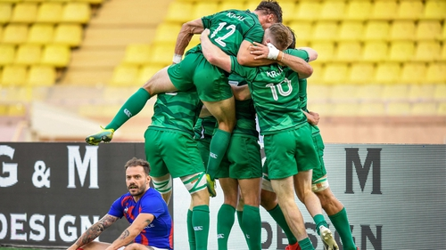 Ireland played all three opponents during the truncated 2020 Sevens Series