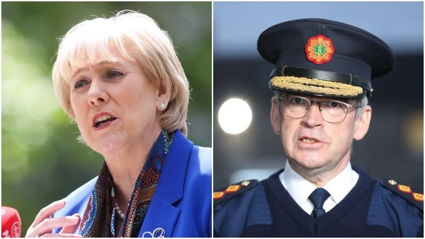Minister Heather Humphreys said Commissioner Drew Harris will be issuing guidance to his members this afternoon (Pic: RollingNews.ie)