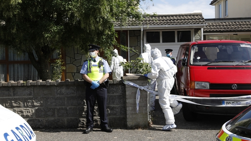 Gardaí and the emergency services were called to the house in Carriglea View, a housing estate in Firhouse