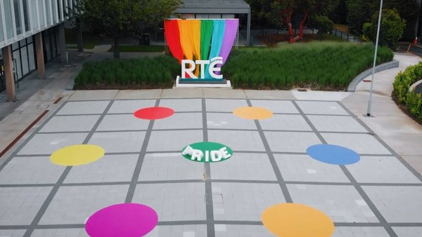 RTÉ supporting Pride 2021