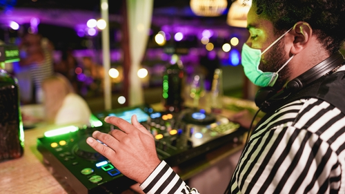 Patrons will have to wear facemasks on the dance floor