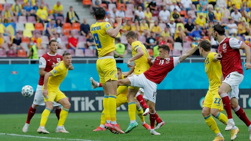 Christoph Baumgartner got the only goal on 21 minutes