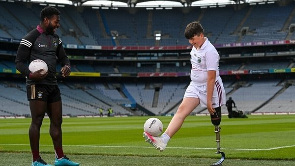 Boidu Sayeh and Conor Dufficy are part of the campaign to increase diversity in GAA