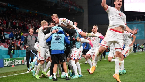 Denmark demolished Russia in emphatic fashion in Copenhagen
