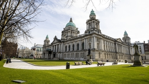 Belfast City Hall housed Northern Ireland's first parliament as Stormont had not yet been built