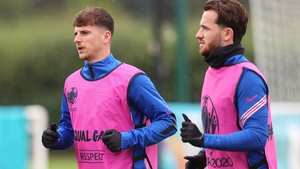 Mason Mount (L) and Ben Chilwell