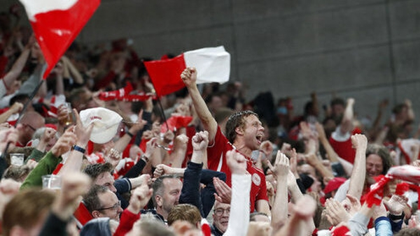 A 12-hour window for entering and leaving the Dutch capital will allow Danish fans attend the game