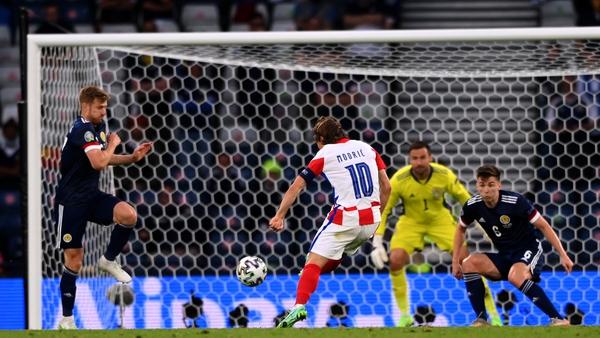 Luka Modric fires in Croatia's second