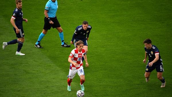 Scotland had no answer to Luka Modric